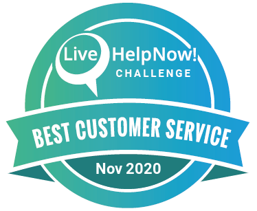 Customer Service Monthly Award - November 2020