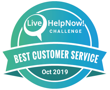 Customer Service Award October 2019