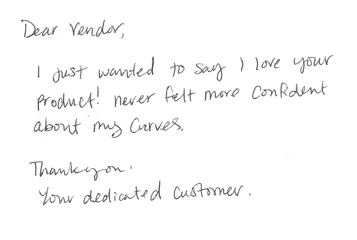 3f31cb2db41 I am sending you this note to tell you how pleased I have been with your  company s service policy. Every order is shipped promptly and a prompt  refund when ...
