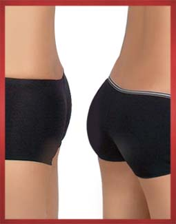 Padded Underwear Before and After