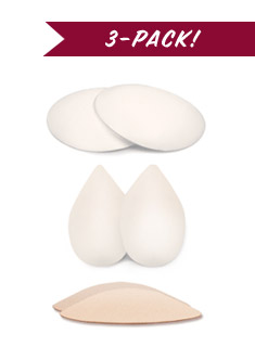 Silicone Butt Pads Set