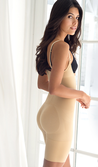 Booty Lift Seamless Butt Lifter Bodysuit
