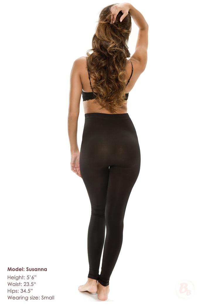 shaping legging butt lifting opaque capri leggings