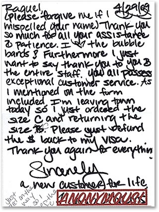 Best Customer Service Letter