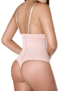 Highwaist Thong Body Shaper