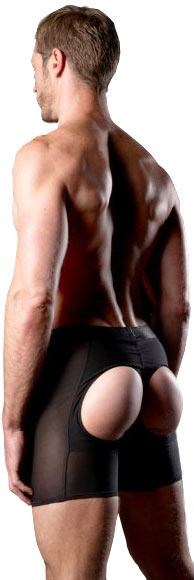 Mens Butt Lifter Boxer Brief