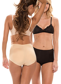 Padded Underwear Can-Can 2-Pack