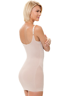 Slip Dress Padded Body Shaper