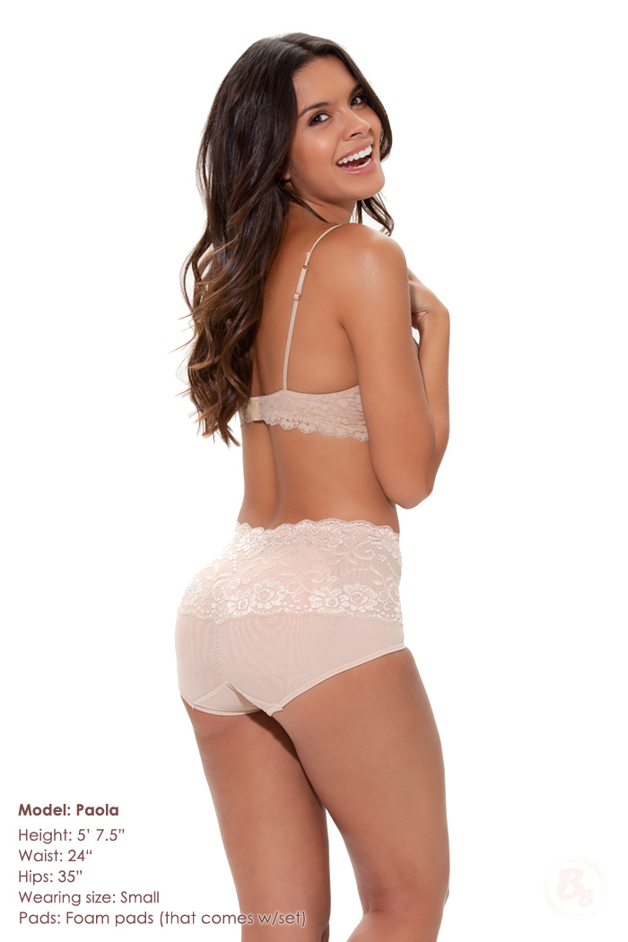 f4d78968f48 Magnifying Glass Mid rise Padded Panties