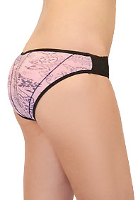 Parisian Pretty Padded Panty with Thick Pads