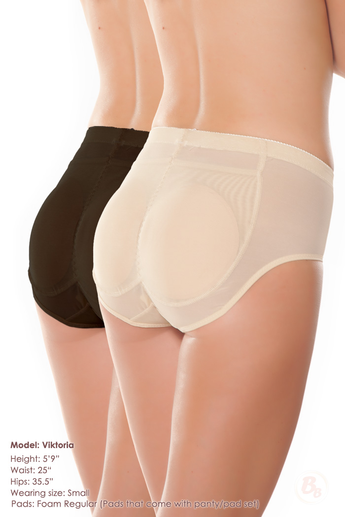 b902ae626 Magnifying Glass Padded Panty Butt Pad Set
