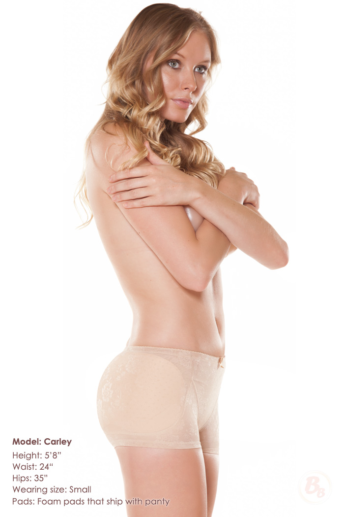 f5d3fe154611 Magnifying Glass Hip and Butt Lowrise Padded Panties