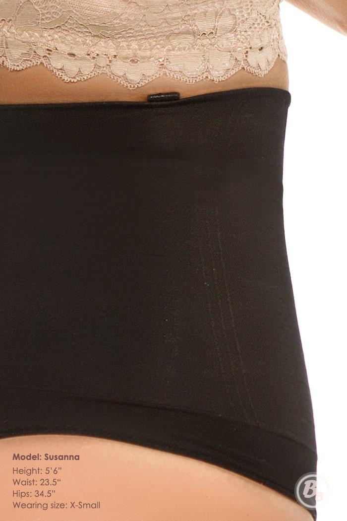 Seamless Thong Highwaist Bodysuit Panty, Removable Straps