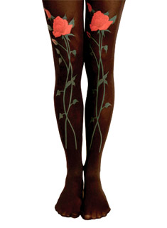 Roses Foral Tights